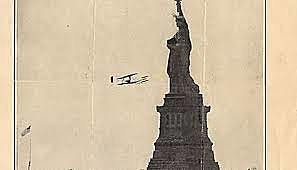 Wilbur flies up the Hudson River