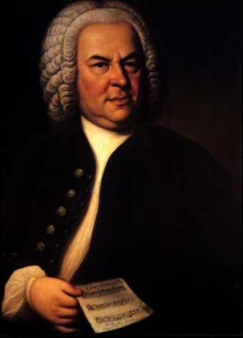 Johann Sebastian Bach was born  in Eisenach