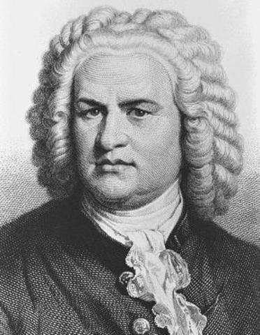 Johann Sebastian Bach died