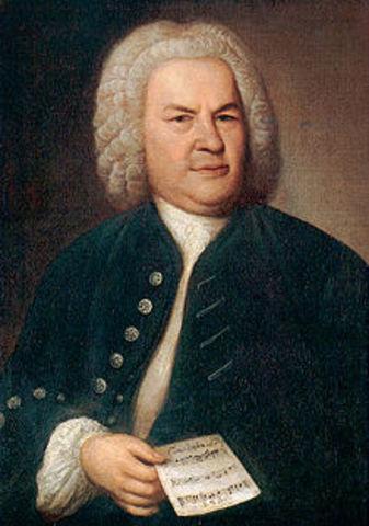 Bach born in Ducado de Sajonia-Eisenach