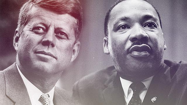 JFK and MLK