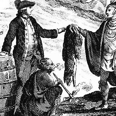 The Fur Trade of North America timeline
