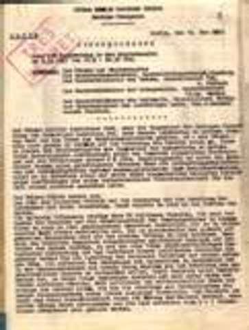 Hitler announces secret plans for Iebensraum