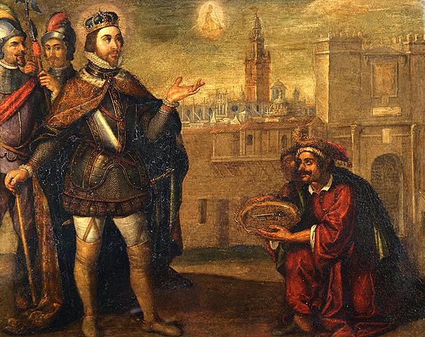 Reconquista de Sevilla comandada por Fernando III