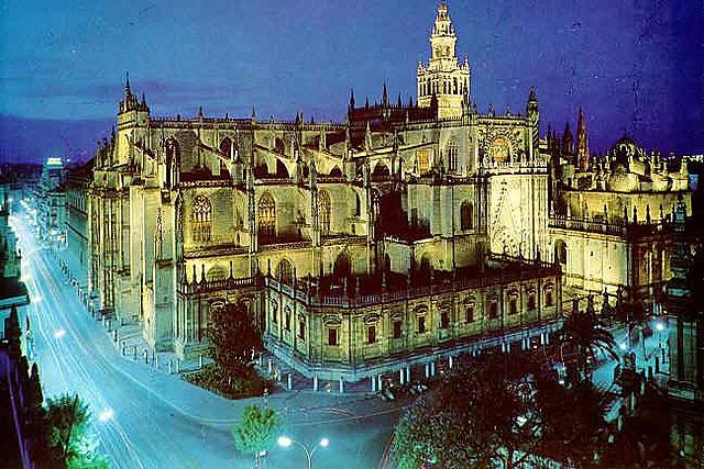 Construcción de la catedral gótica de Sevilla