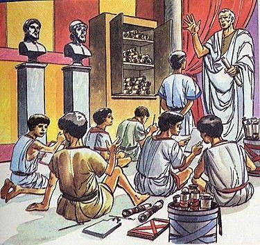 Concepción de infante en la antigüedad - Siglo IV