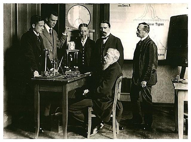 Wilhem Wundt abre el primer laboratorio de psicología experimental en Leipzig (Alemania)