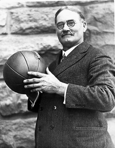 Dr. James Naismith invented basket ball