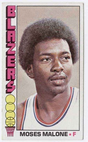 Moses Malone becomes first player to sign to a professional basketball team right out of high school