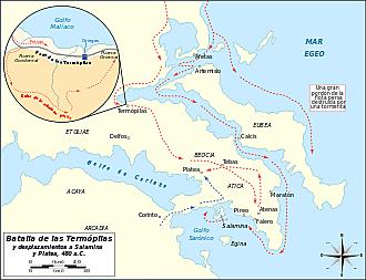 Batalla  de naval de Salamina