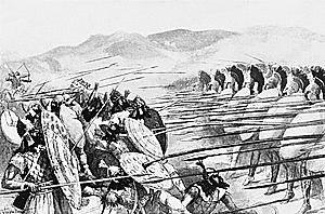 Fin   de la Batalla  de  Platea