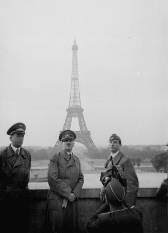 Italy enters the war on the side of Germany and invades France