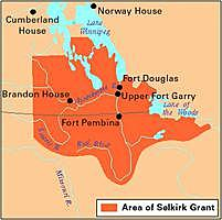 The Red River Colony and Lord Selkirk