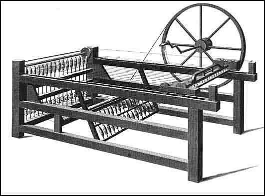 Spinning machine spinning jenny