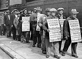 First trade unions