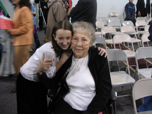 Grandma Peggy passed