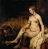 Bathseba met de brief van koning David