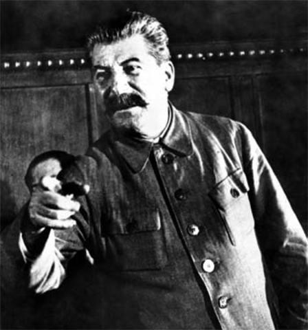 Totalitarian government established in USSR