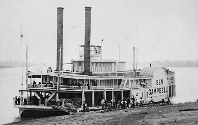 First steam boats
