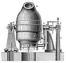 Bessemer conventer steel manufacturing