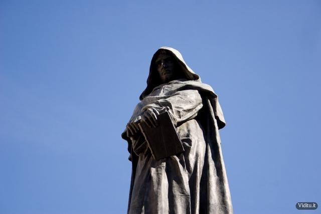 Giordano Bruno is burned