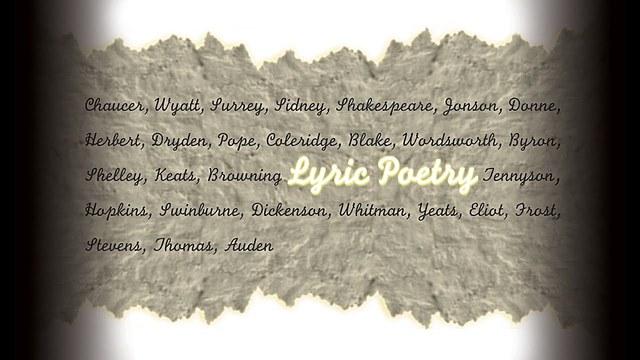 Lyric poetry - Jan 1, 1500