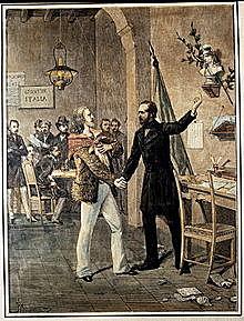 Charles Albert attacks the Austrians