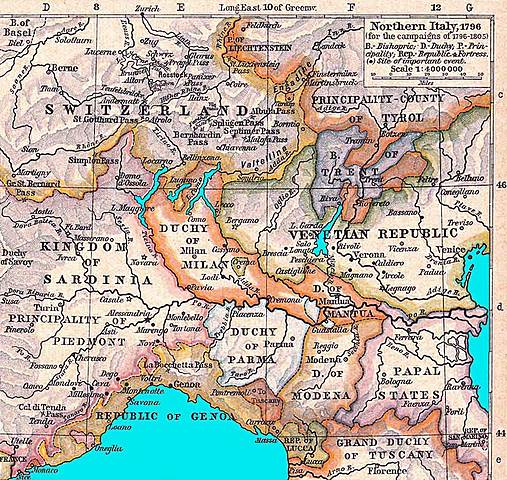 Austrians reestablish control in Lombardy and Venetia