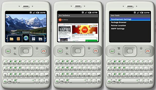 Android 0.5 (Version de prueba)