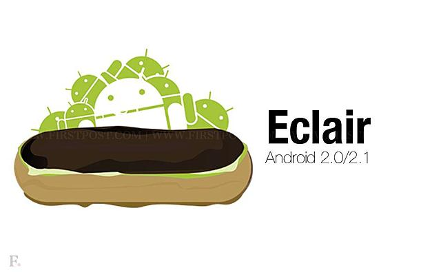 Android 2.0 y 2.1 Éclair (El primer gran rediseño de la historia)