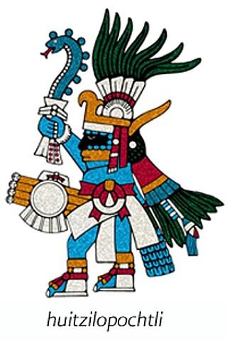 The Aztecs begin their pilgrimage
