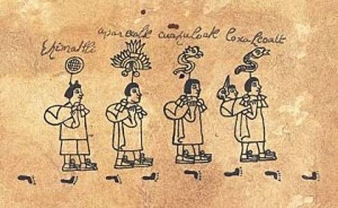 The Mexica arrive in the Valley of Mexico