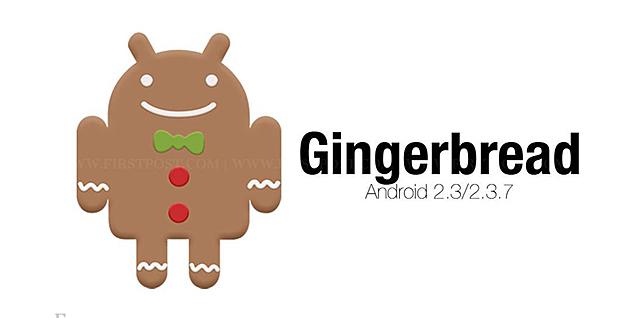 Android 2.3 Gingerbread ( Los colores inundan la interfaz)