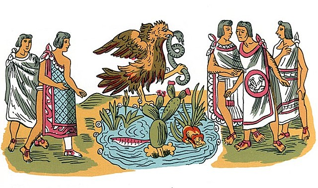 The founding of Tenochtitlan