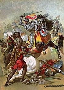 Spanish conquistadors' Sorrowful Night