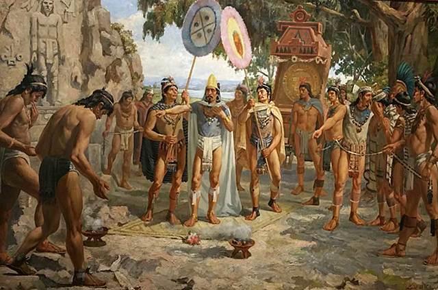 Montezuma II reigns