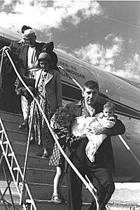 אירועים לאומיים  1948-1958