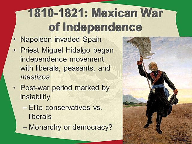 Mexican War of Independence (Mexico)