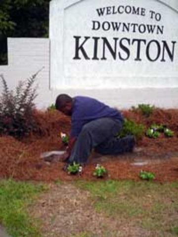 Moved to Kinston, NC