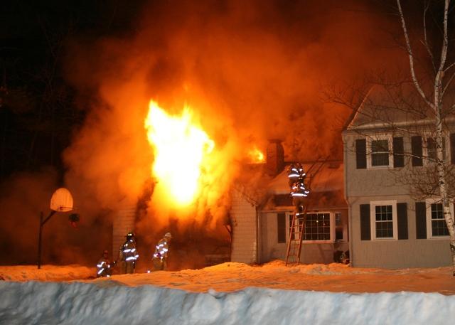 House Burned Down