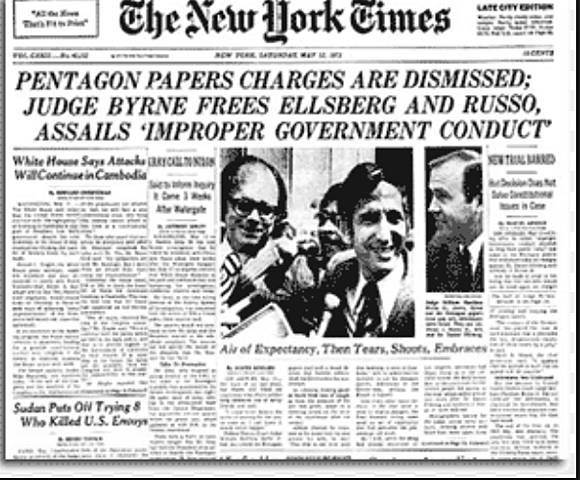 Pentagon Papers published