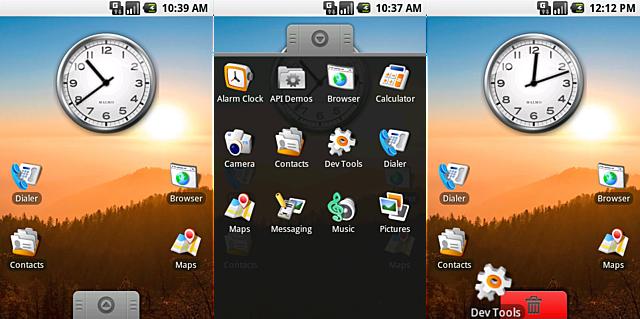 Esto luce familiar Android 0.9