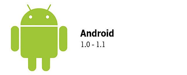 Primera versión de Android