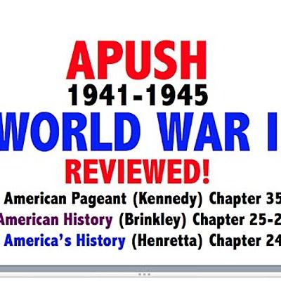 Period 7 - Part 4: World War ll timeline
