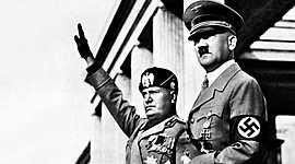 El feixisme italià i alemany timeline