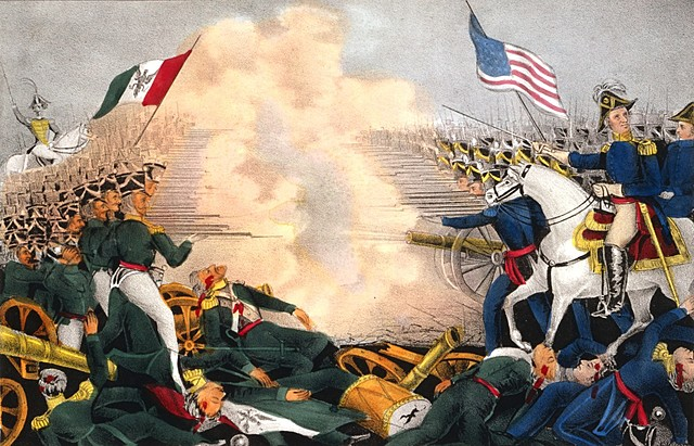The Mexican American War (United States, Mexico)