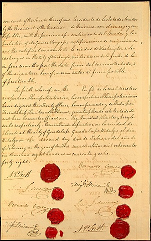Treaty of Guadalupe Hidalgo (United States, Mexico, California, Texas)