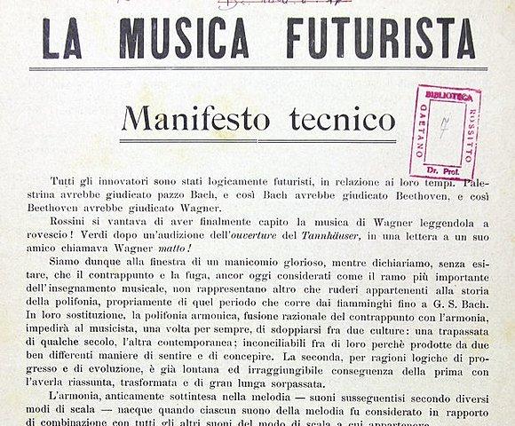 Manifest dels compositors futuristes