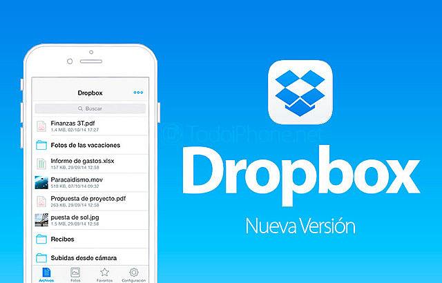 Dropbox en IOS estrena comentarios y una promesa:ir de gestor de archivos a suite ofimatica.