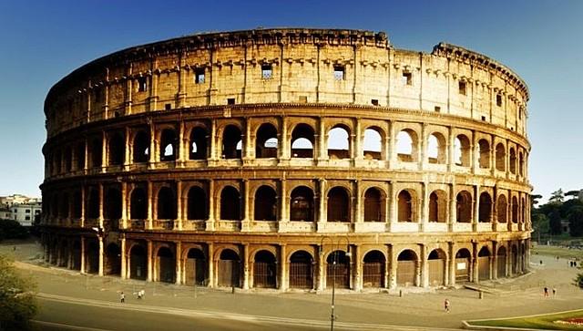 Colosseum is built
